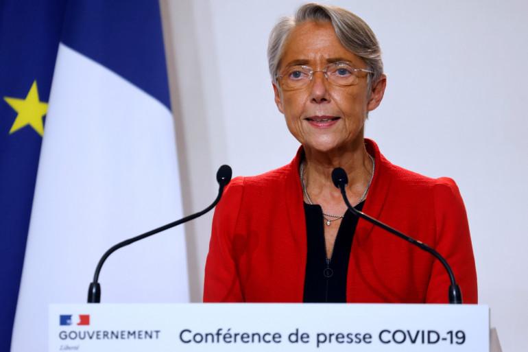 Élisabeth Borne le 12 novembre 2020 à Paris.