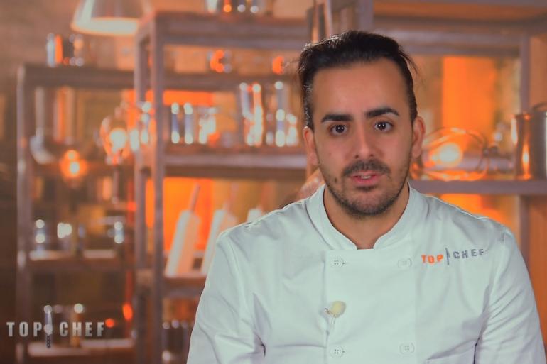 """Franck, candidat de """"Top Chef"""" 2017"""