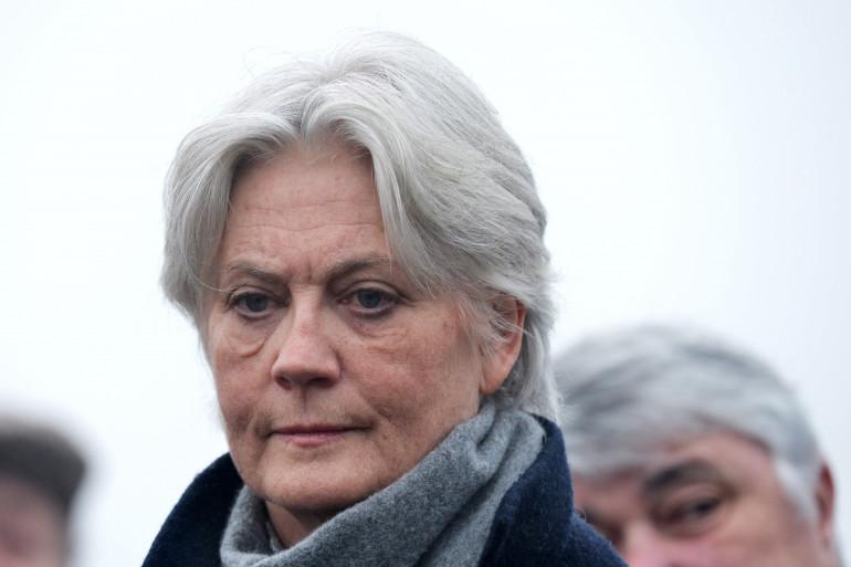 Penelope Fillon en décembre 2016 à Sablé-sur-Sarthe
