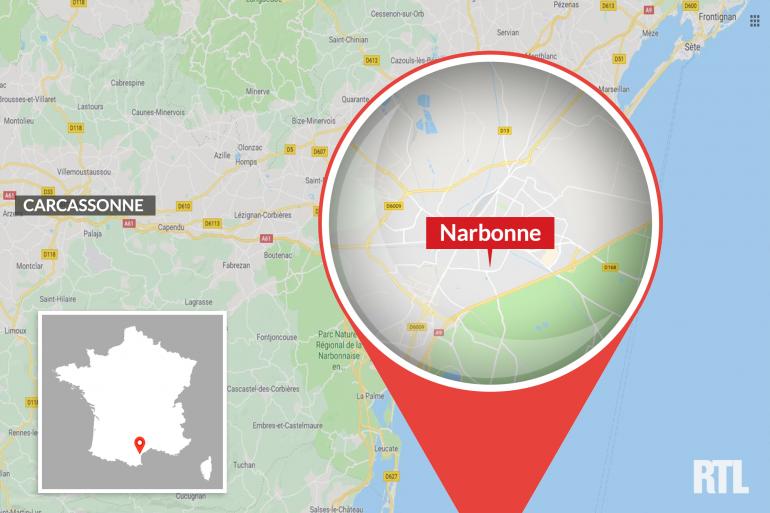 La ville de Narbonne, dans l'Aude.