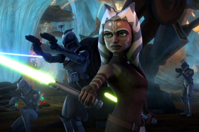 """Ahsoka Tano, l'une des héroïnes de la série """"Star Wars : The Clone Wars"""""""