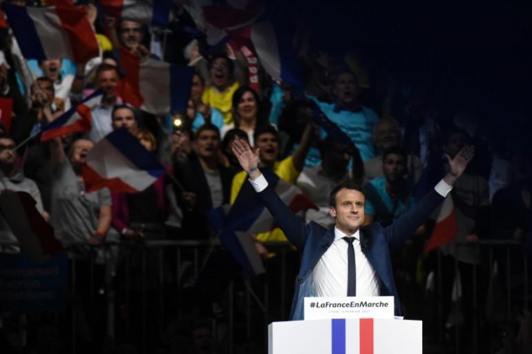 Emmanuel Macron, le 4 février à Lyon (Rhône).