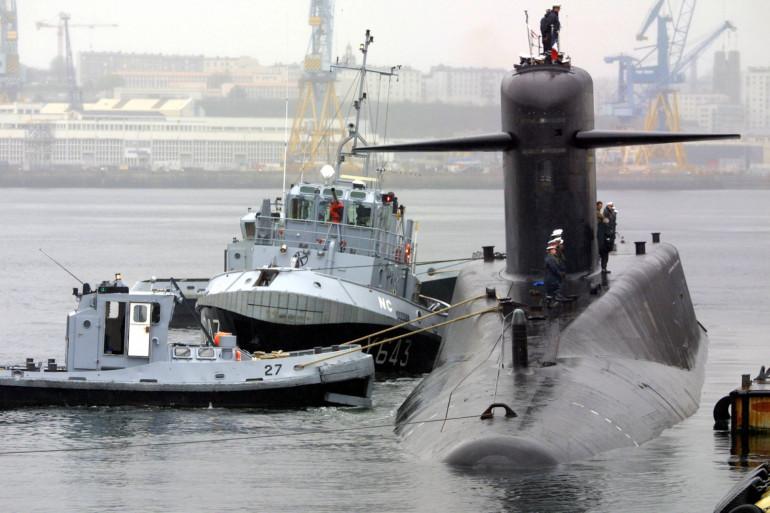 Le sous marin nucléaire l'Indomptable (illustration)