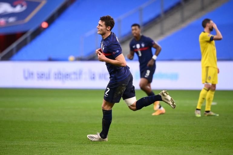 Benjamin Pavard au Stade de France le 17 novembre 2020