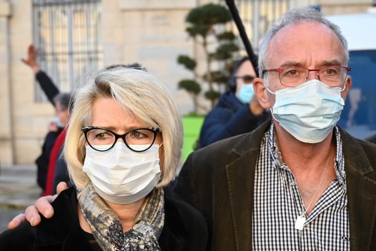 Isabelle et Jean-Pierre Fouillot, les parents d'Alexia Daval
