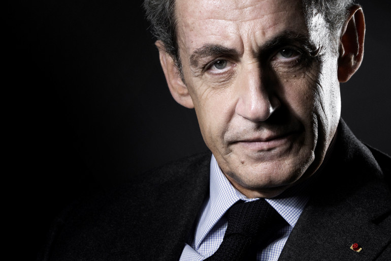 Nicolas Sarkozy le 18 octobre 2020