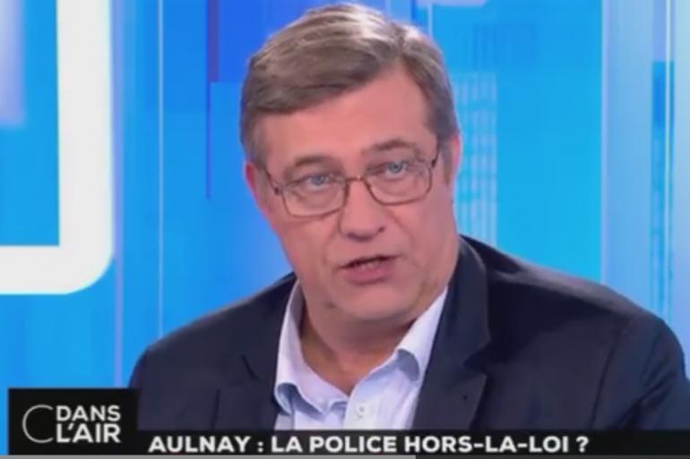 Luc Poignant, chargé de communication du syndicat Unité SGP Police