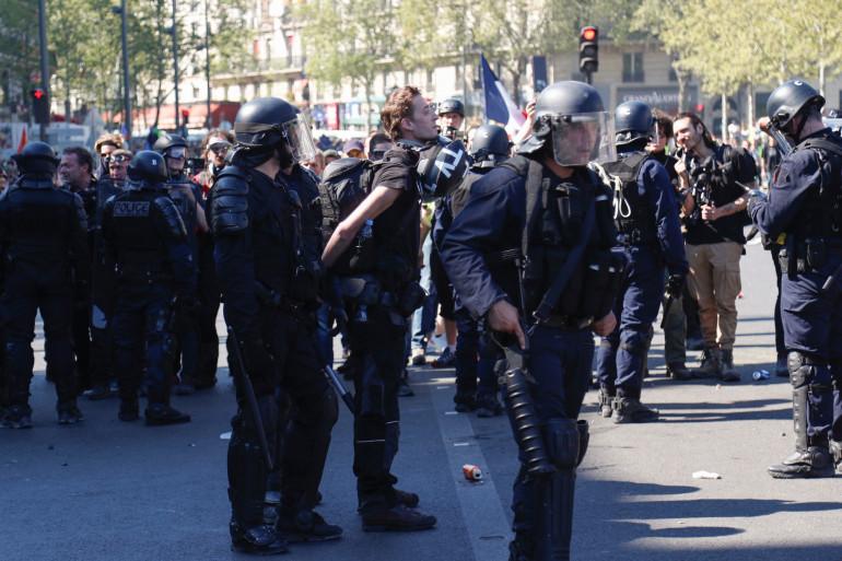 Le journaliste indépendant Gaspard Glanz a été interpellé samedi 21 avril pour outrage (illustration)