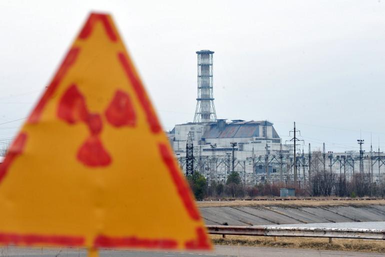 La centrale de Tchernobyl, en Ukraine (illustration).
