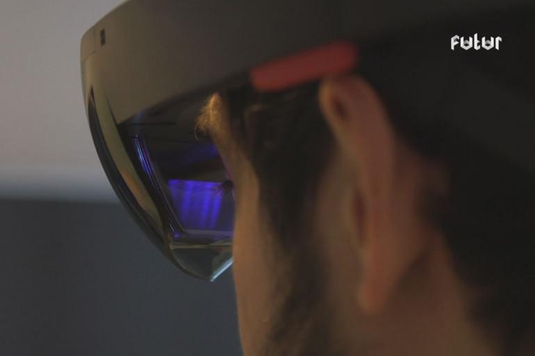 Avec Hololens, Microsoft donne un aperçu d'un futur en réalité augmentée