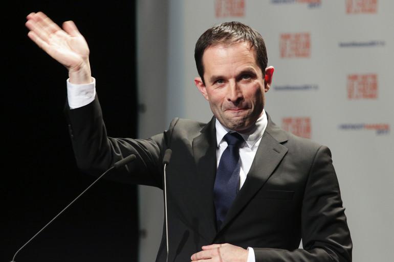 Benoît Hamon à Guéret, le 9 février 2017