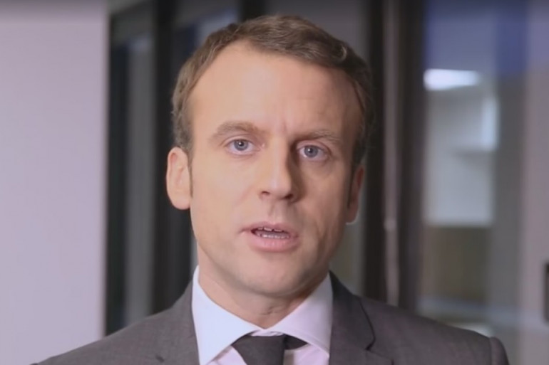 Emmanuel Macron lance un appel aux acteurs de la lutte contre le réchauffement climatique (capture d'écran)