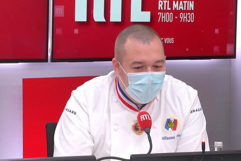 Guillaume Gomez, chef des cuisines de l'Élysée, invité RTL le 20 novembre 2020