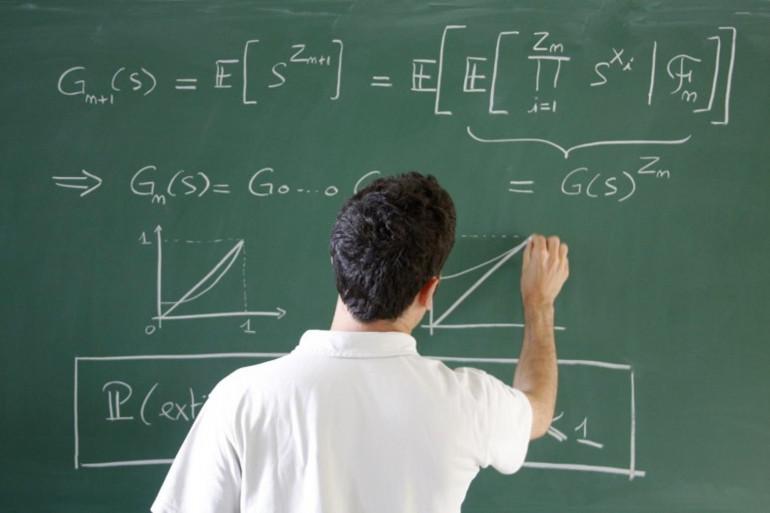 Un problème de mathématiques (illustration)