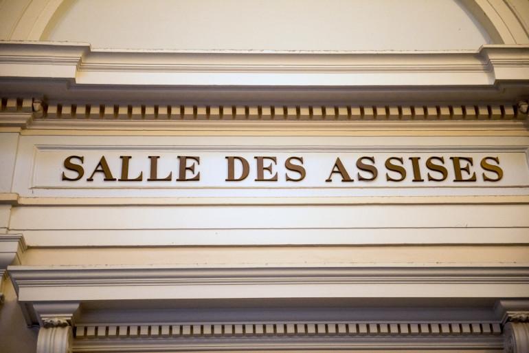 La salle des Assises au palais de justice de Saint-Omer, dans le Pas-de-Calais.