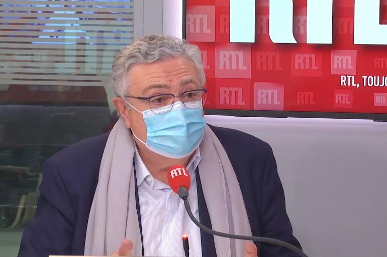 Jacques Creyssel, Délégué Général de la Fédération du Commerce et de la Distribution , invité sur RTL
