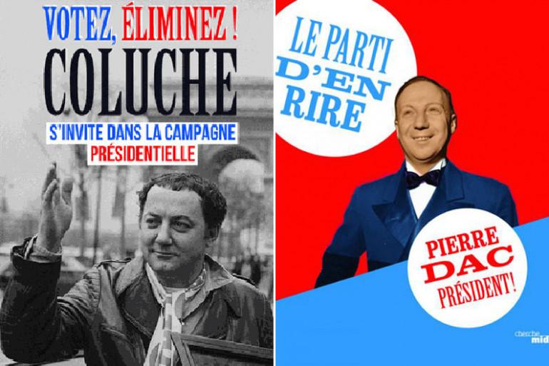 Deux livres d'humour à l'approche de la présidentielle