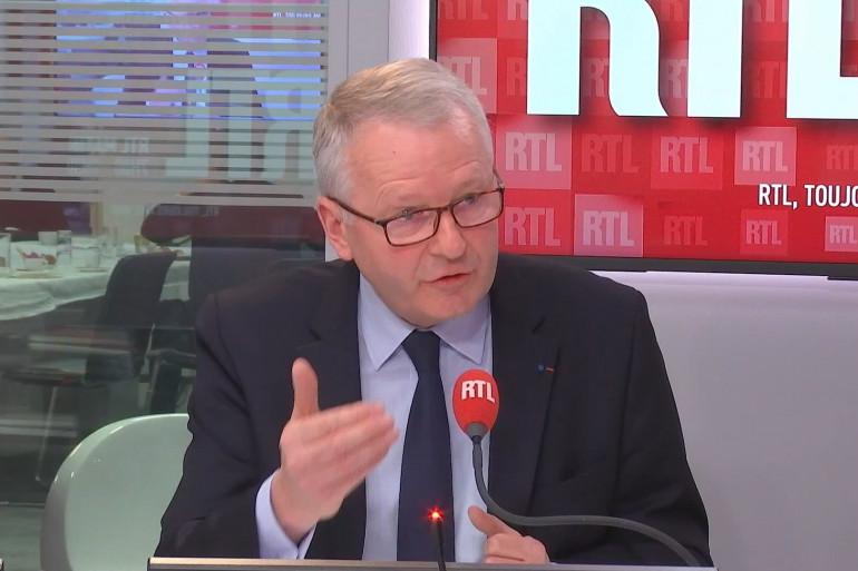 Le procureur de Paris Rémy Heitz, sur RTL le lundi 23 novembre