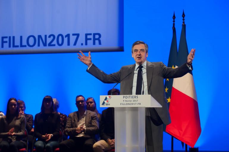 François Fillon, le 9 février 2017