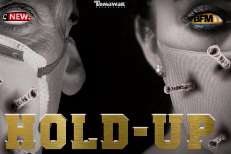 """Capture d'écran de la bande annonce du documentaire """"Hold-Up"""" (Youtube)"""