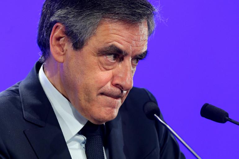 François Fillon, le 15 février 2017