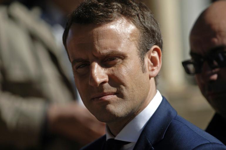 Emmanuel Macron, le 14 février 2017