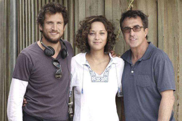"""Guillaume Canet, Marion Cotillard et François Cluzet dans """"Les Petits Mouchoirs"""", 2010"""