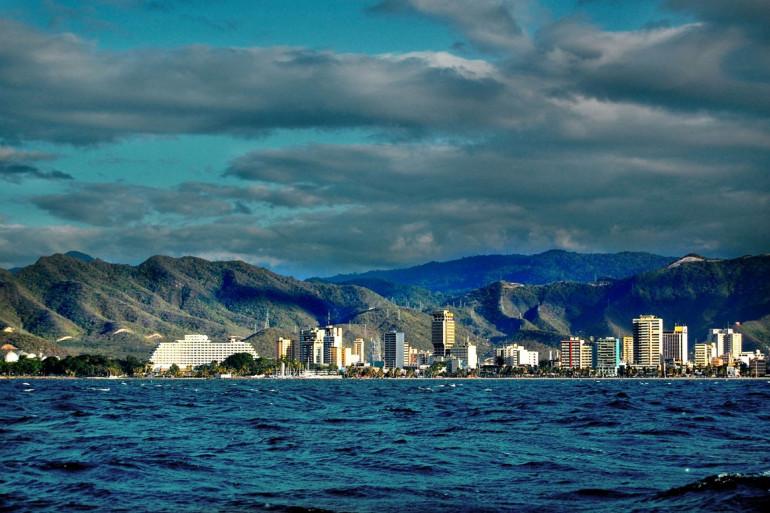 La station balnéaire de Puerto La Cruz au Venezuela, où vivait Paul Wolnerman.