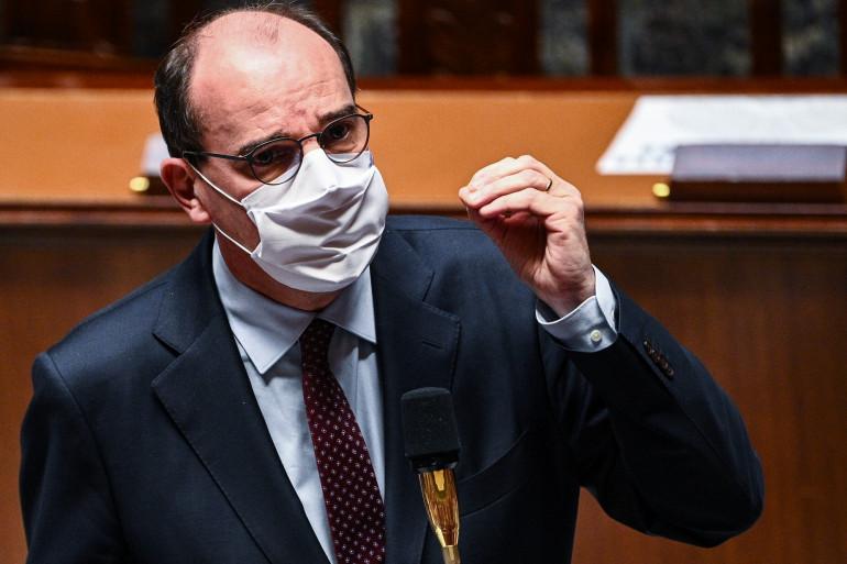 Le Premier ministre Jean Castex à l'Assemblée nationale, le 24 novembre 2020.