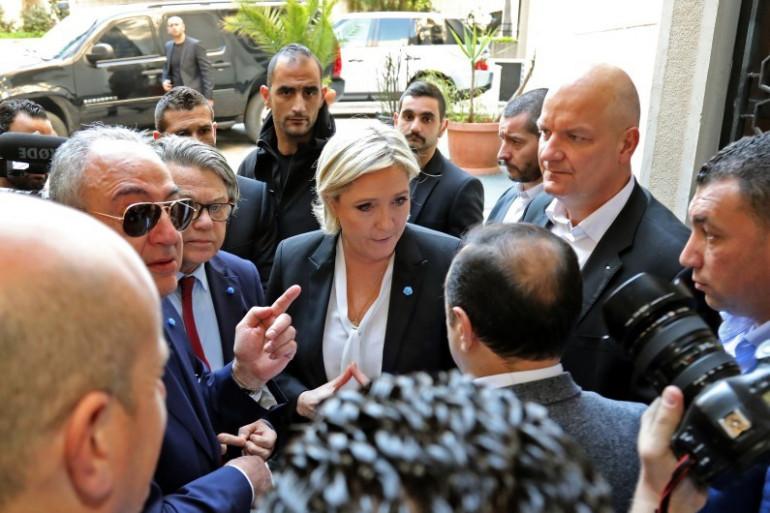 Marine Le Pen au Liban, le 21 février 2017