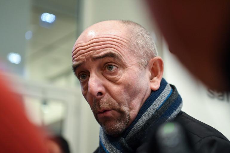 Yves Lefevre, secrétaire général du syndicat Unité SGP-FO.