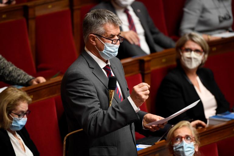 Jean Lassalle à l'Assemblée le 17 novembre 2020.