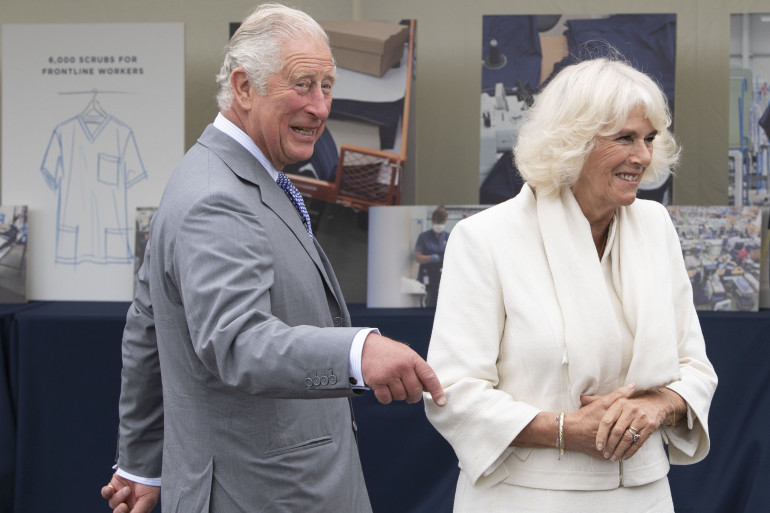 Le prince Charles et son épouse Camilla en juillet 2020