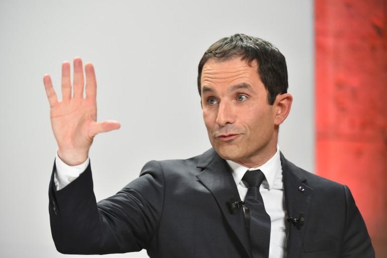 Benoît Hamon à Blois, le 21 février 2017