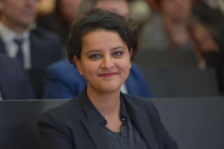 Najat Vallaud-Belkacem à Paris le 23 février 2017.