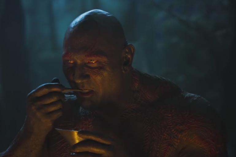 """Drax dans le teaser des """"Gardiens de la Galaxie 2"""""""