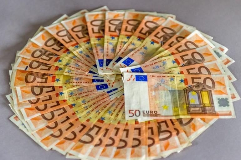 Des billets de 50 euros (illustration).