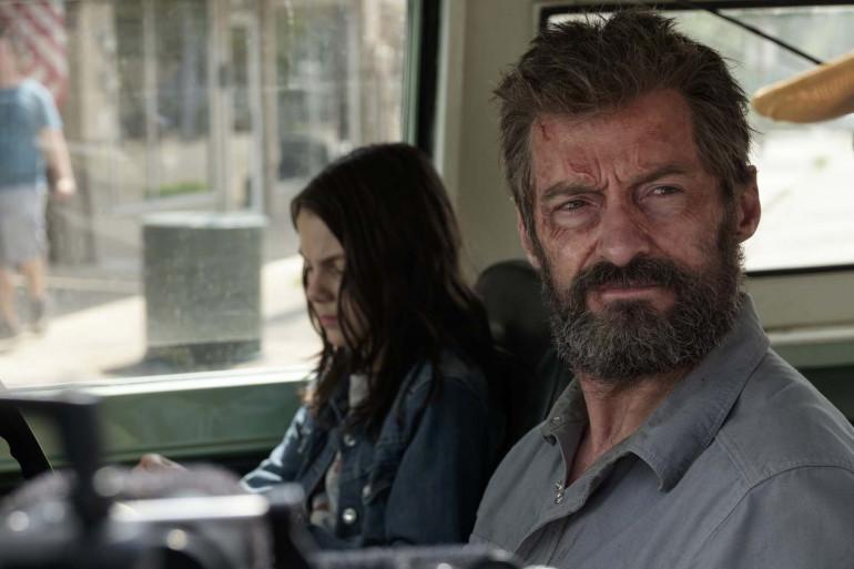 """Dans """"Logan"""", Hugh Jackman partage l'affiche avec la jeune Dafne Keen"""