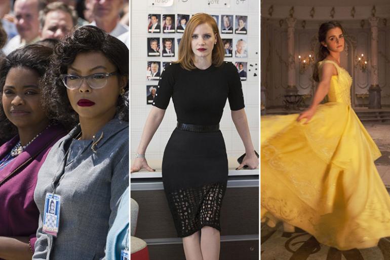 """""""Les figures de l'ombre"""", """"Miss Sloane"""" et """"La Belle et la Bête"""" sont à l'affiche ce mois de mars"""