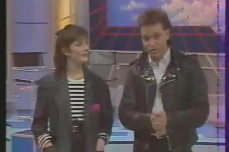 Charlotte Sciandra et Georges Lang lors du lancement de M6