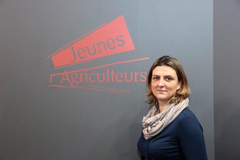 Caroline Delepierre-Piat est agricultrice près de Lille
