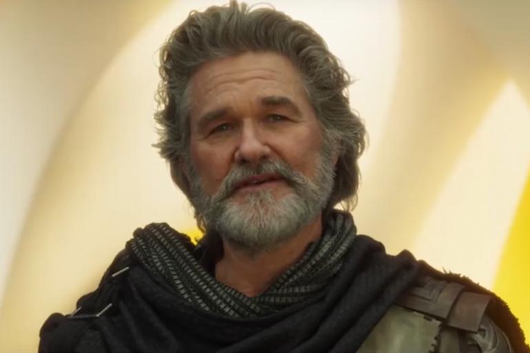 """Kurt Russel interprète ego, le père de Star-Lord dans """"Les Gardiens de la Galaxie 2"""""""