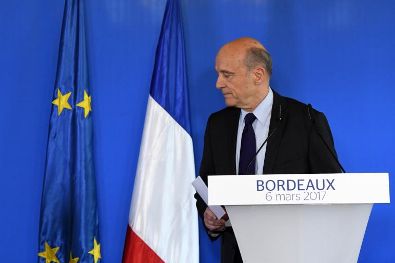 Alain Juppé, le 6 mars 2017 à Bordeaux