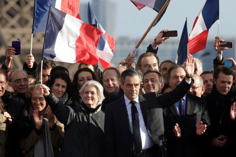 François Fillon, à Paris le 6 mars 2017