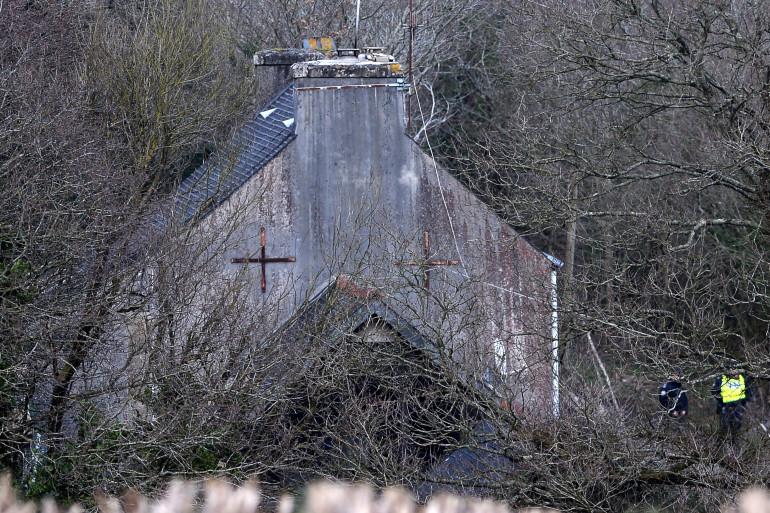 La ferme d'Hubert Caouissin à Pont-de-Buis dans le Finistère.