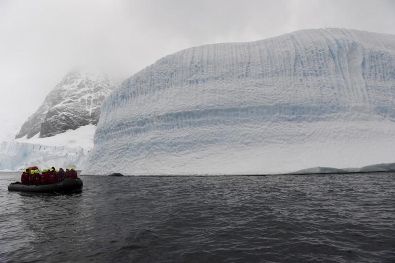 Un glacier en Antarctique