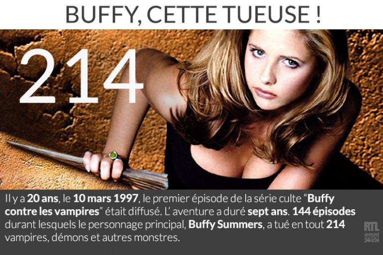 Buffy a tué plus de 200 méchants !