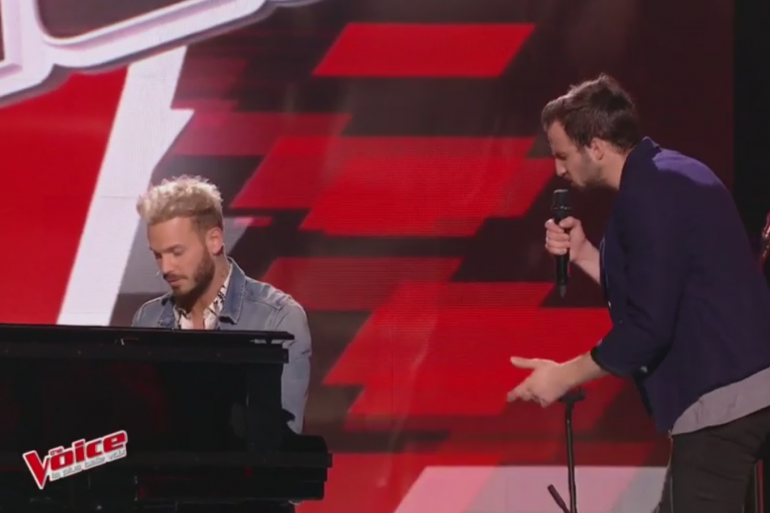 """Matt Pokora et Marvin reprennent """"Le Monde"""" dans """"The Voice 2017"""""""