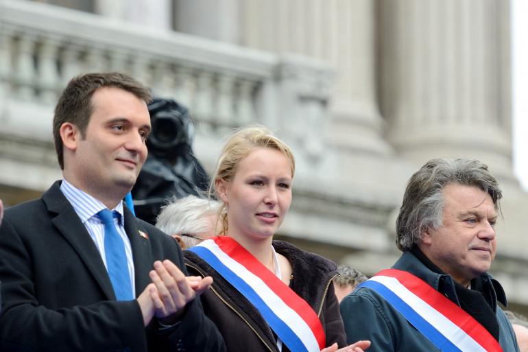 Le Front national rassemblé le 1er mai 2013