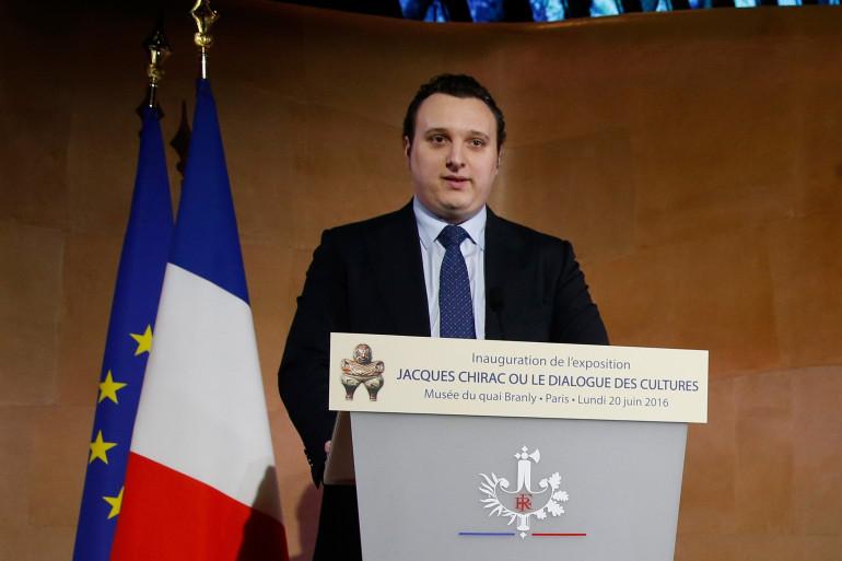 Martin Rey-Chirac, le petit-fils de Jacques et Bernadette Chirac, en juin 2016